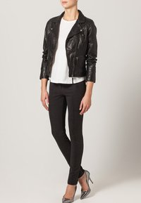 Oakwood - CAMERA - Veste en cuir - schwarz - 1