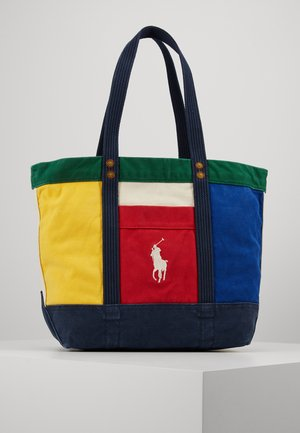 COLORBLOCKED TOTE - Bolso shopping - multi