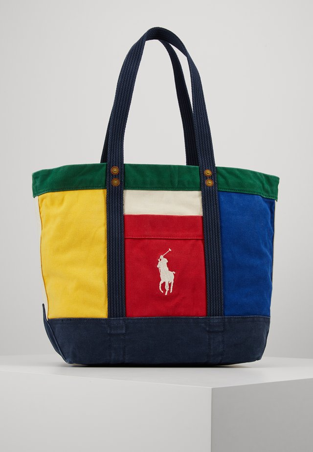COLORBLOCKED TOTE - Tote bag - multi