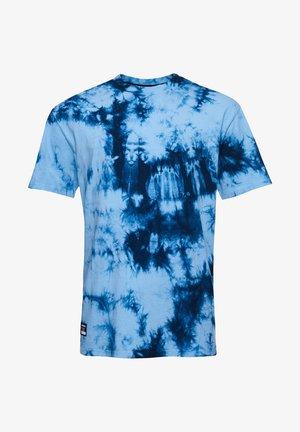 UNISEX TIE DYE - Print T-shirt - mid blue/indigo