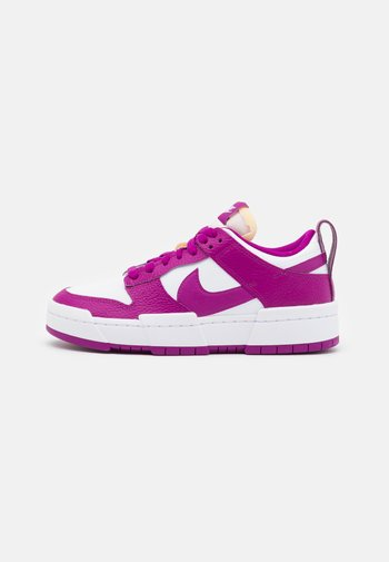 DUNK DISRUPT - Trainers - white/red plum