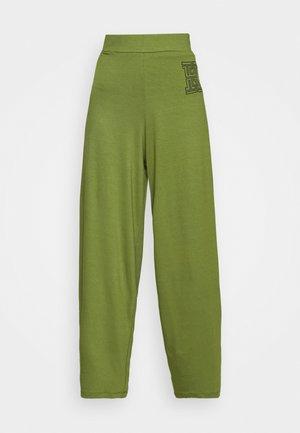 FLARE PANTS - Trousers - olive khaki