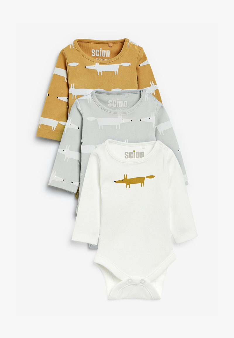 Next - 3PACK - Long sleeved top - ochre