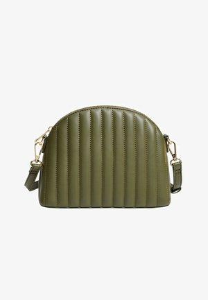 SAFI - Across body bag - billardgrün