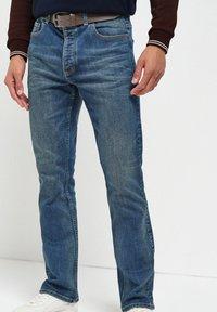 Next - Bootcut jeans - blue denim - 0