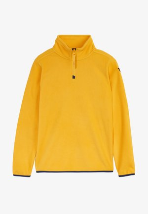 HALFZIP  - Fleece trui - old gold
