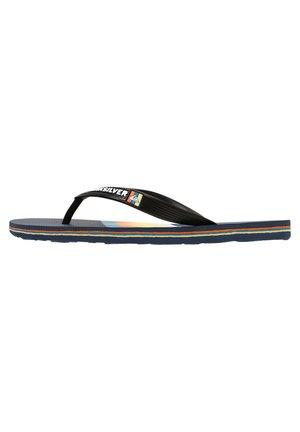 MOLOKAI SLAB  - Pool shoes - black/blue/blue