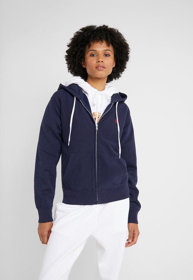 SEASONAL  - veste en sweat zippée - cruise navy