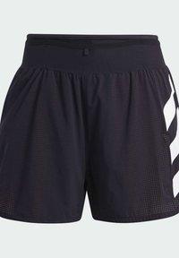 adidas Performance - Agravic PRO SHORT TECHNICAL AEROREADY TRAIL RUNNING SHORTS - Shorts - black - 8