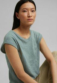 Esprit - Basic T-shirt - turquoise - 0