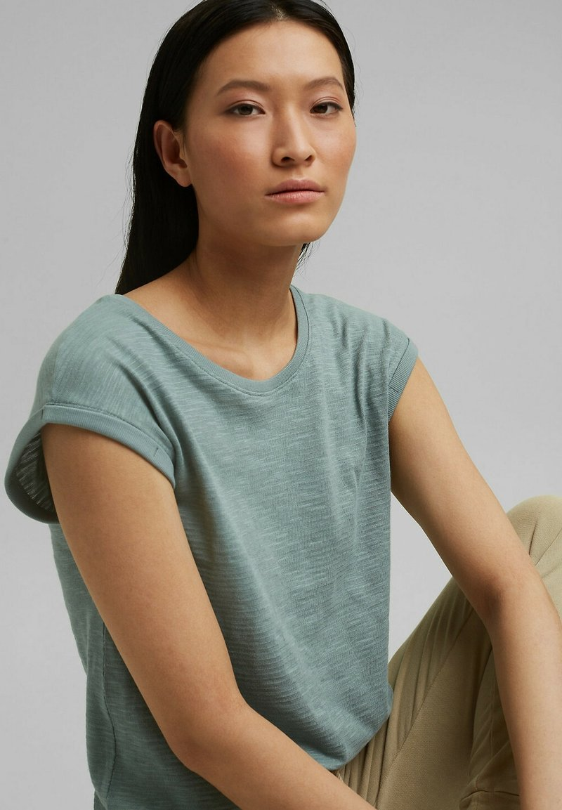 Esprit - Basic T-shirt - turquoise