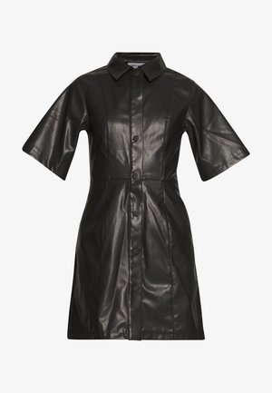 SAVANAH DRESS - Skjortekjole - black