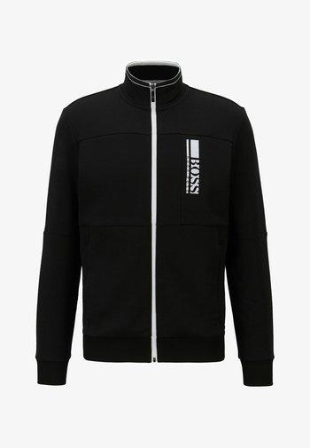 SKAZ  - Sweat à capuche zippé - black