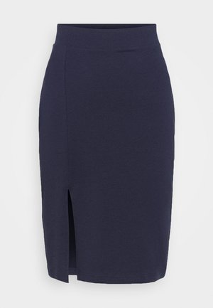 BASIC - Bodycon mini skirt - Blyantskjørt - dark blue