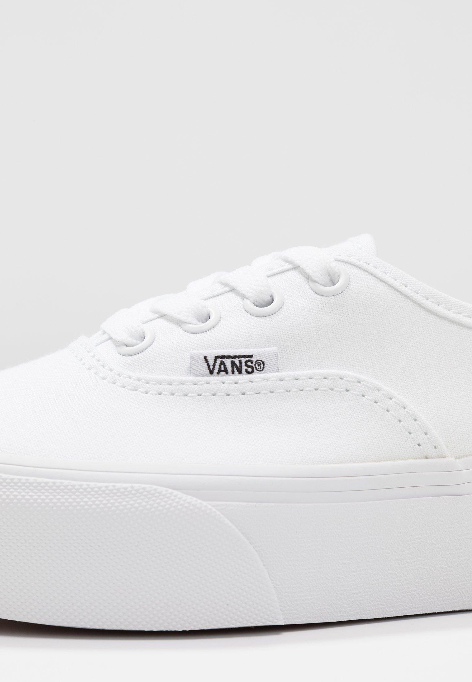 AUTHENTIC PLATFORM - Chaussures de skate - true white