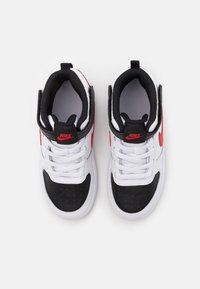 Nike Sportswear - COURT BOROUGH MID 2 UNISEX - High-top trainers - white/universe red/black - 3