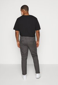 Jack´s Sportswear - CHECKED CLUB PANTS - Kalhoty - dark grey - 2