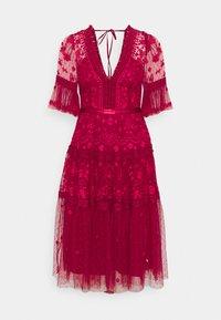 Needle & Thread - LOTTIE MIDI DRESS - Cocktail dress / Party dress - deep red - 6