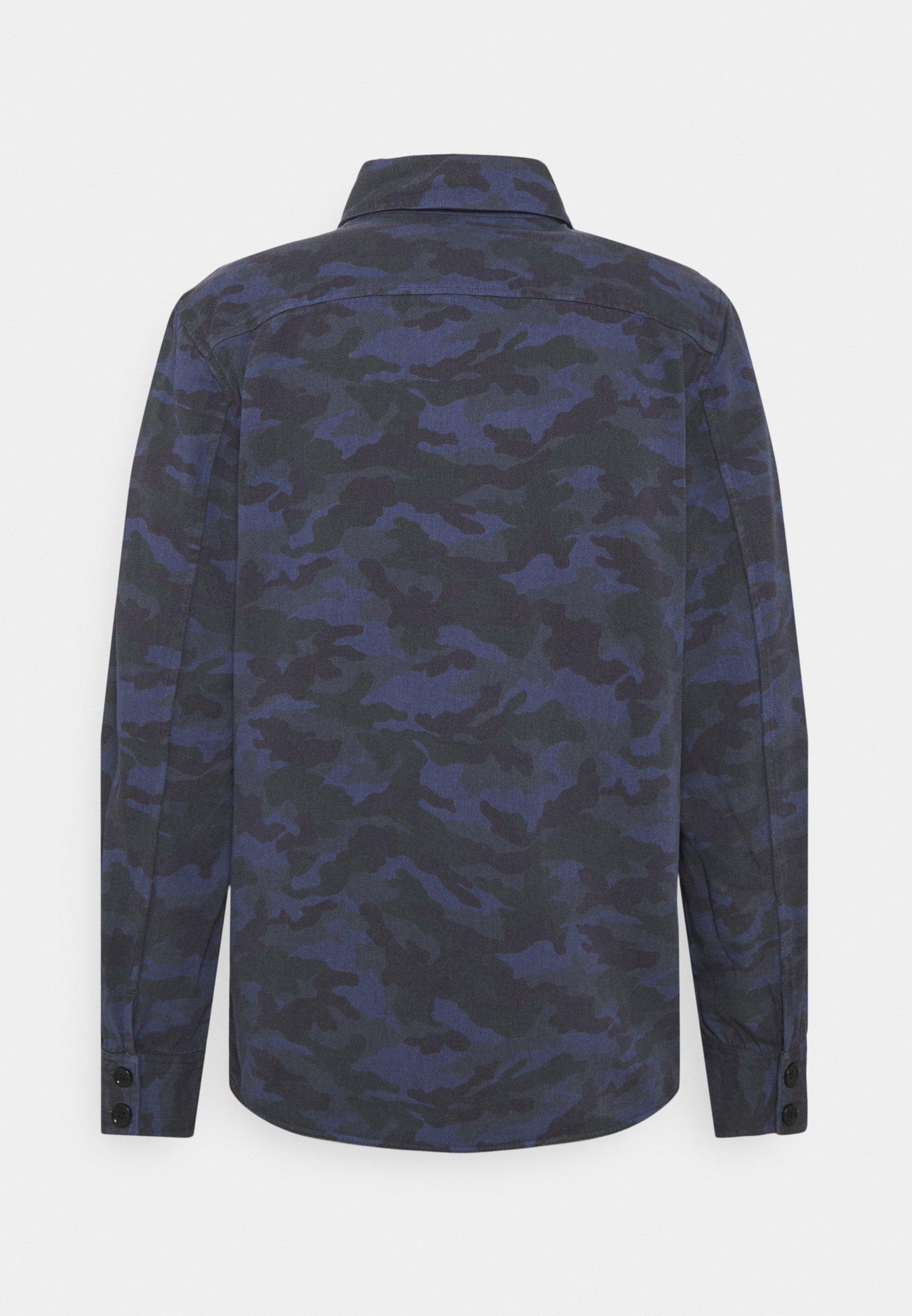 Men REVERSIBLE OVERSHIRT - Summer jacket