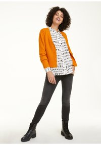 comma casual identity - Cardigan - curry - 1