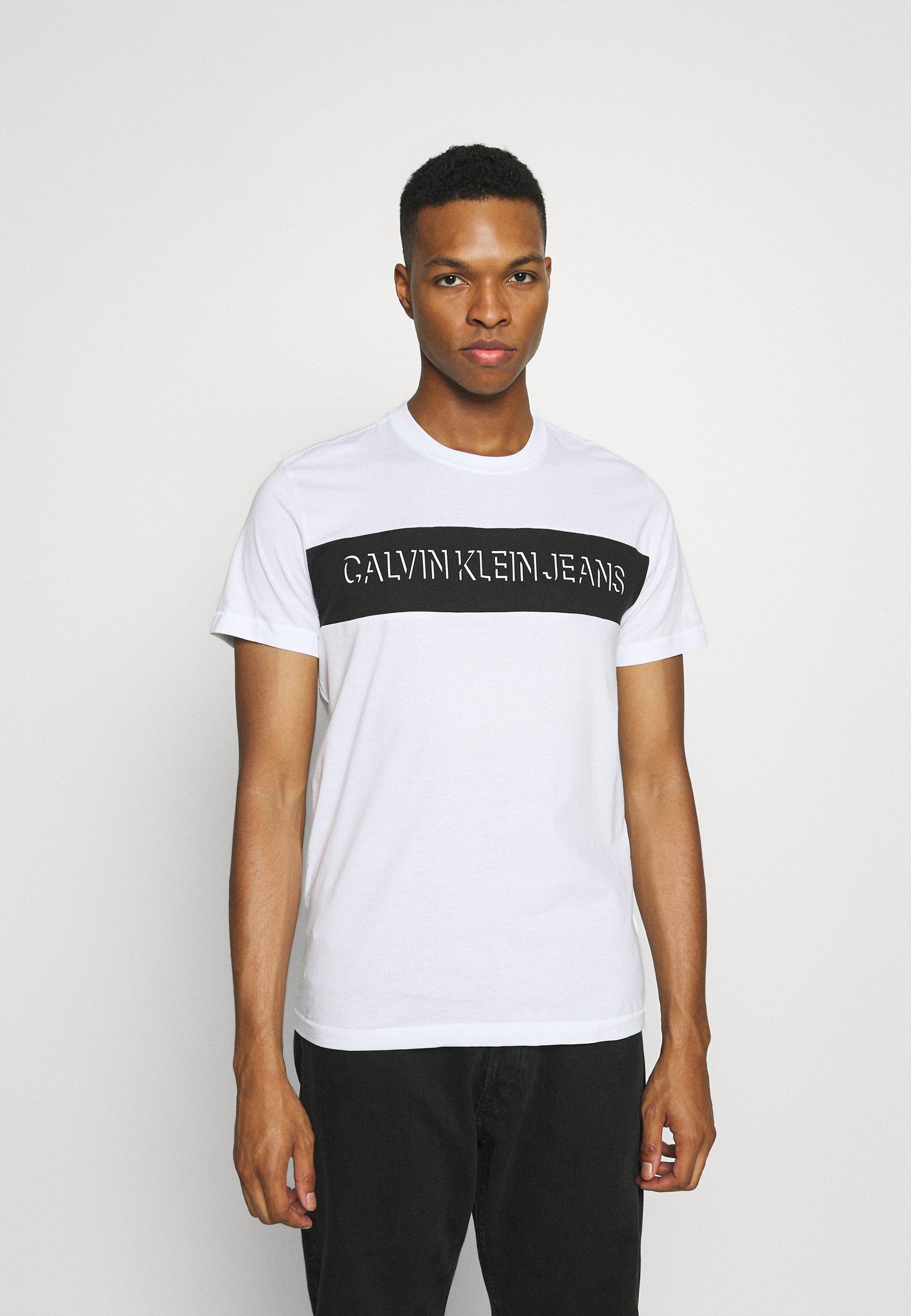 Men COLORBLOCK SHADOW LOGO - Print T-shirt