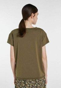 SET - ICON - Print T-shirt - ivy green - 1