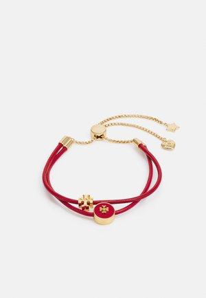 KIRA SLIDER BRACELET - Bracelet - gold-coloured/brilliant red