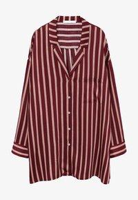 Violeta by Mango - RALLON - Button-down blouse - maroon - 4