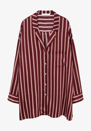 RALLON - Button-down blouse - maroon