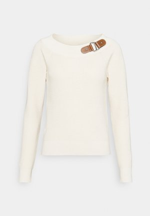 BALLET NECK - Sweter - mascarpone cream
