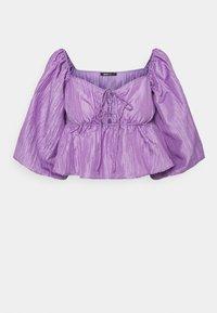 Gina Tricot - BEATRIX BLOUSE - Pitkähihainen paita - purple - 4