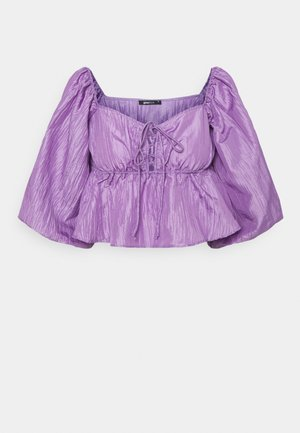 BEATRIX BLOUSE - Langarmshirt - purple