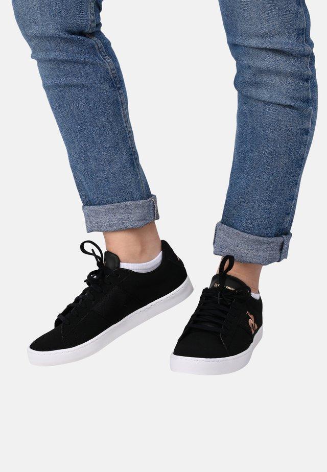 "ELSA - Sneakersy niskie - ""black/ rose gold"""