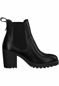 Tamaris - CHELSEA  - High heeled ankle boots - black - 4