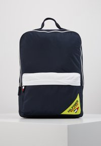 Tommy Hilfiger - KIDS SQUARE BACKPACK SAILING - Zaino - blue - 0