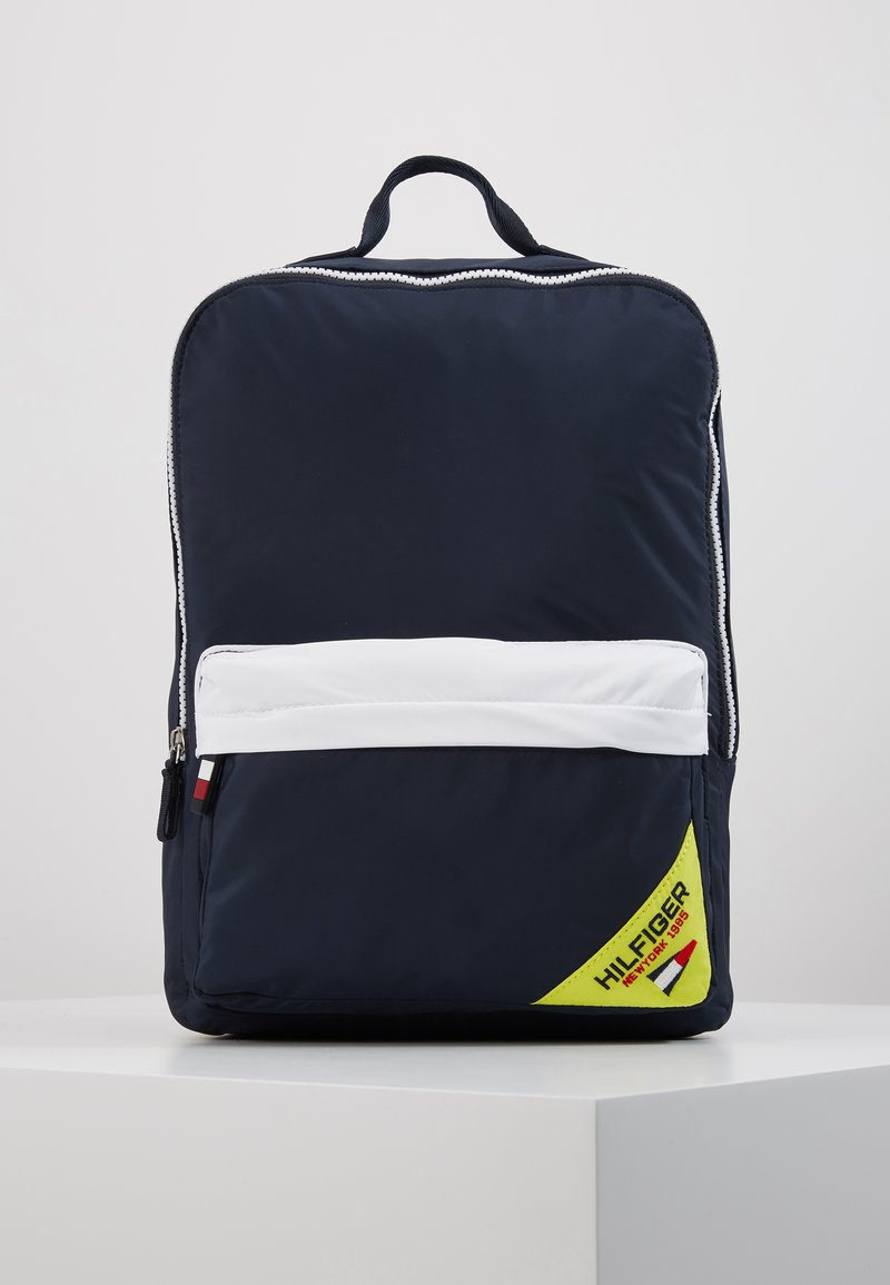 Tommy Hilfiger - KIDS SQUARE BACKPACK SAILING - Zaino - blue