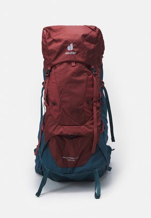 AIRCONTACT LITE 40 + 10 UNISEX - Hiking rucksack - redwood/arctic