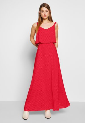 LADIES DRESS - Vestido largo - red coral