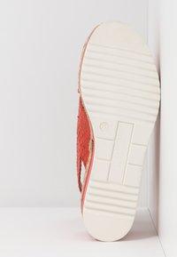 Pons Quintana - Platform sandals - coral - 6
