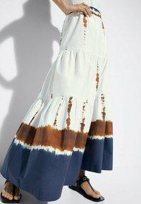 Massimo Dutti - Maxi skirt - white - 0