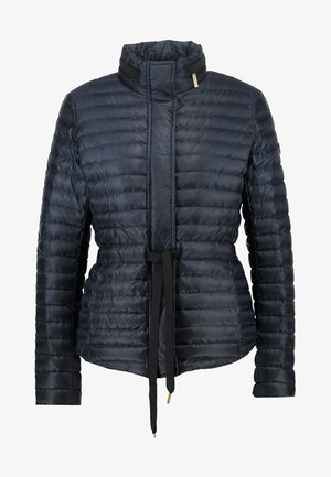BELTED - Down jacket - new navy