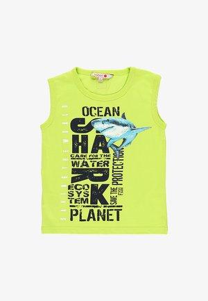 SHARKS - Top - lime