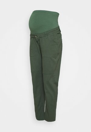 Relaxed fit jeans - khaki