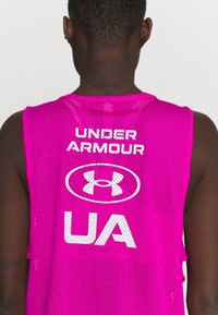 Under Armour - MUSCLE TANK - Sports shirt - meteor pink - 5