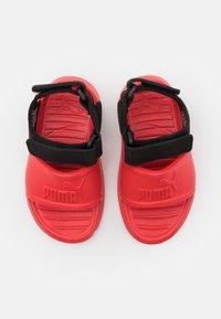 Puma - DIVECAT V2 INJEX  - Sandals - poppy red/black - 3