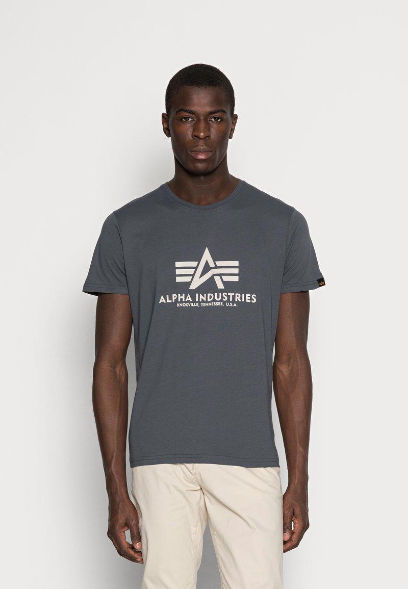Alpha Industries - Print T-shirt - anthrazit