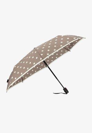 Medium Duomatic - Umbrella - dot art taupe