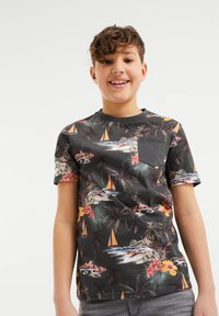 WE Fashion - MET DESSIN - T-shirt con stampa - all-over print - 1