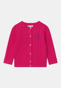Polo Ralph Lauren - MINI CABLE - Cardigan - accent pink - 0