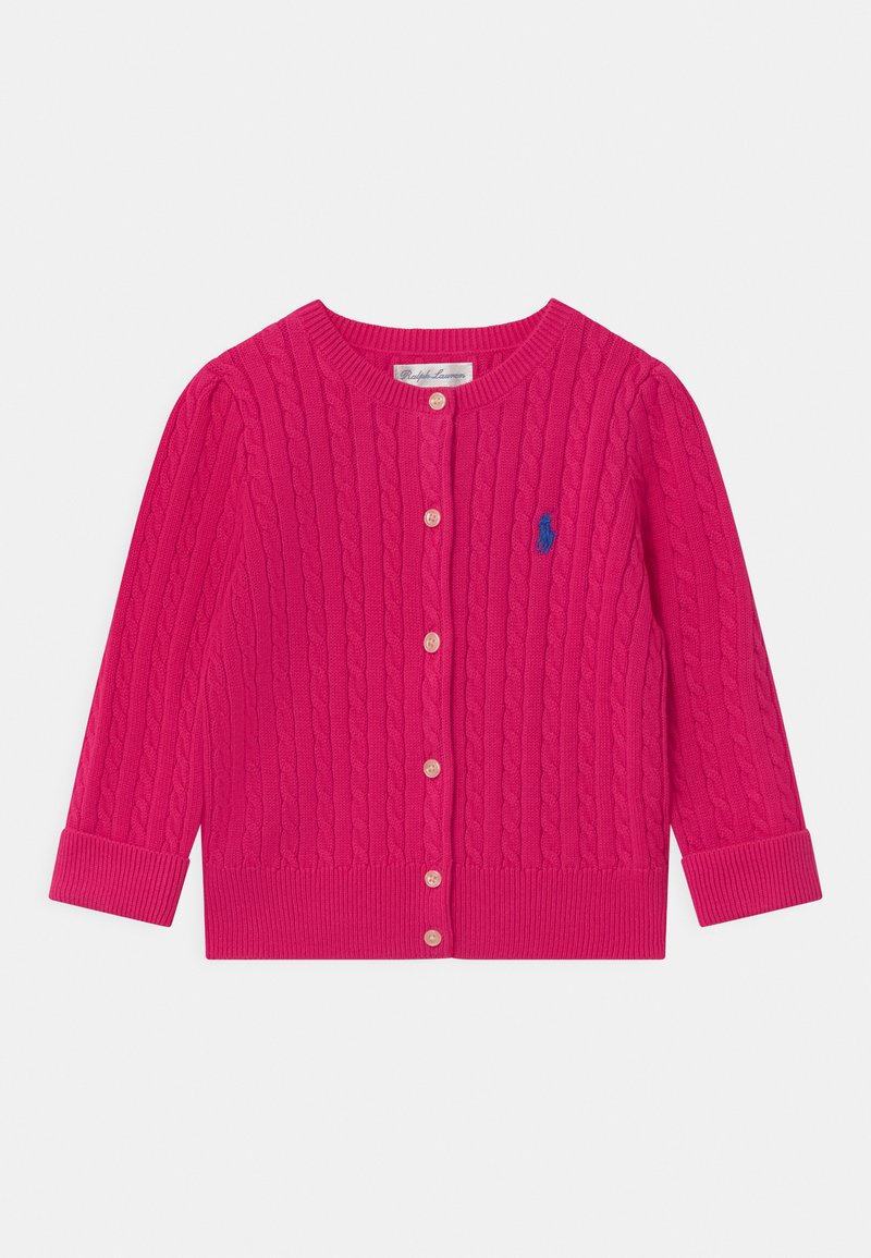 Polo Ralph Lauren - MINI CABLE - Cardigan - accent pink